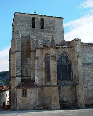 Iglesia de san pedro santo domingo de silos la comarca turismo rural burgos - Casa rural santo domingo de silos ...